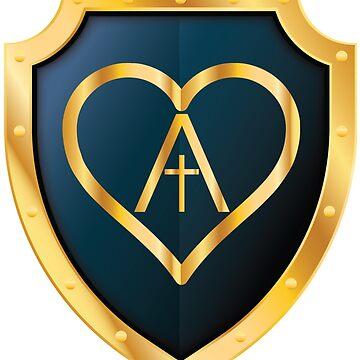 Shielded Agape Heart by 309series