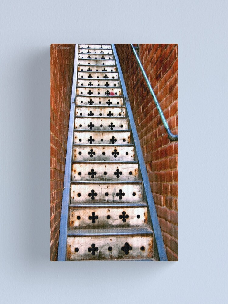 Alternate view of Lucky Steps Canvas Print