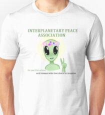 Interplanetary Peace Association Unisex T-Shirt