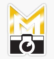 MMP_White_Outline  Sticker