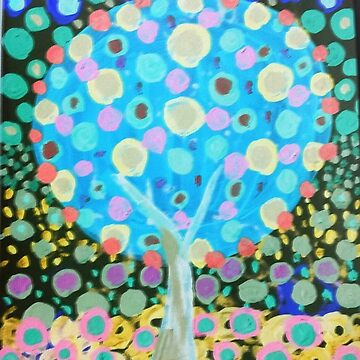 Glow tree by JulieRobin