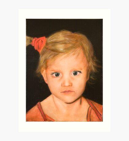 Jennifer on Canvas Art Print