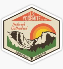 Yosemite National Park Sticker