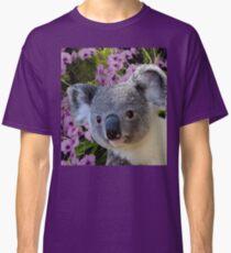 Koala and Orchids Classic T-Shirt