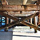 Underneath the Busselton Jetty Colour by Coralie Plozza