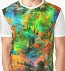 Neon Abstract  Graphic T-Shirt