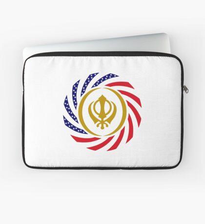 Sikh American Patriot Flag Series Laptop Sleeve