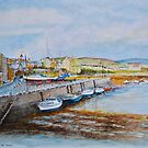 Afternoon at Port St Mary on the Isle of Man by Dai Wynn