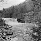 Cumberland Falls on large format Film by Bill Wetmore