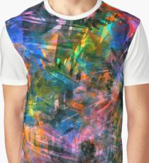 Neon Abstract 2 Graphic T-Shirt