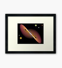 Journey Into Space Framed Print