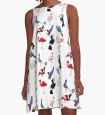 Pretty Birds A-Line Dress