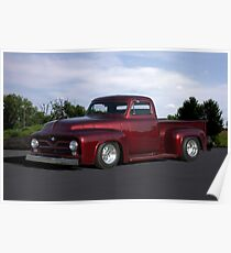 1955 Ford Pickup Truck Poster