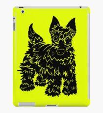 Shaggy Scotty Dog  iPad Case/Skin