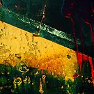 dumpster art by Lynne Prestebak