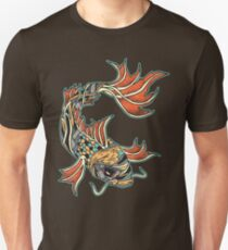 Bio-Mechanical Koi Unisex T-Shirt