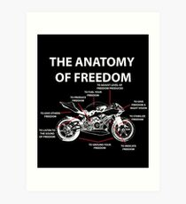 The Anatomy Of Freedom Shirt Art Print