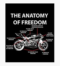 The Anatomy Of Freedom Shirt Photographic Print