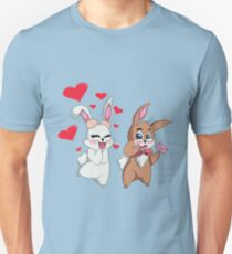 Bunny Valentine  Unisex T-Shirt