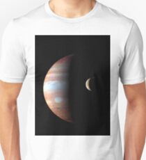 New Horizons - Jupiter Size Comparison Unisex T-Shirt