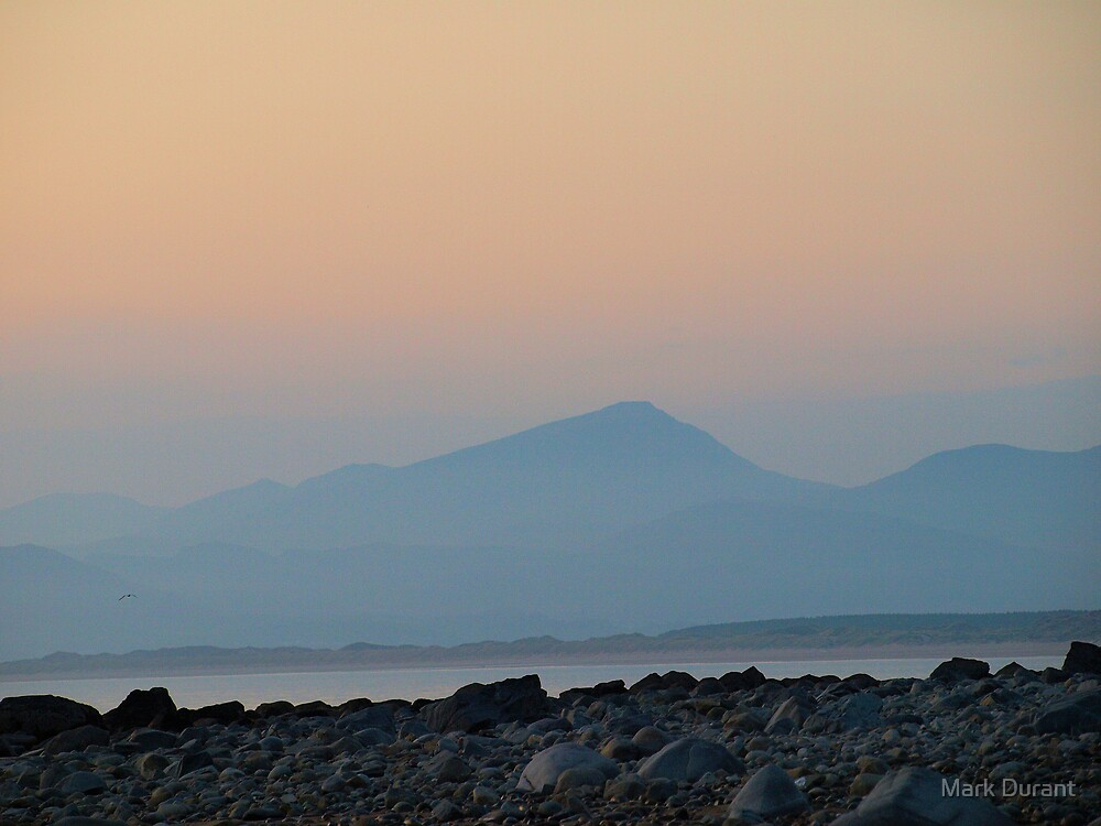 The Mountains from Llandanwg by Mark Durant