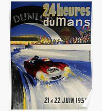 24hs Le Mans, 1958 Poster