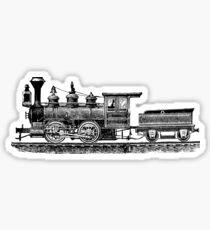 Vintage European Train A2 Sticker