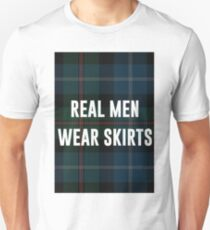 Real Men Wear Skirts (Light Shirts) Unisex T-Shirt
