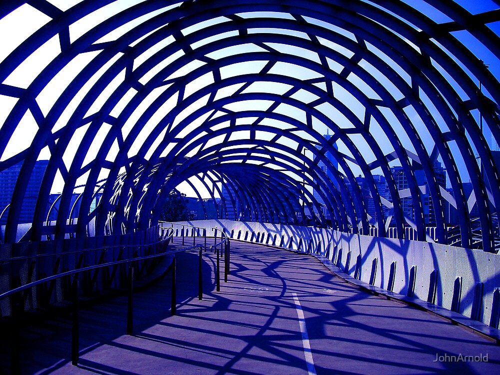 Caged Walkway by JohnArnold