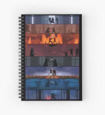 Star Wars Spiral Notebook