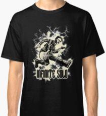 Tesla Lightning Guitar Infinite Solo Art Design Classic T-Shirt