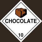 Chocolate: Hazardous! by glyphobet