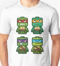 Chibi Ninja Turtles Unisex T-Shirt