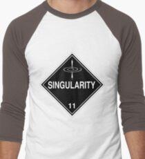 Singularity: Hazardous! Men's Baseball ¾ T-Shirt