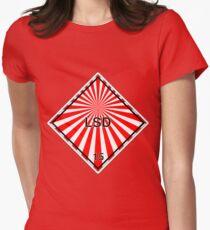 LSD: Hazardous! Womens Fitted T-Shirt