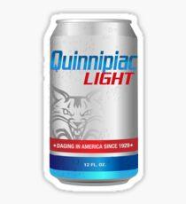 Quinnipiac Light Sticker