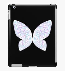 Whimsical Butterfly (Purple White ver.) iPad Case/Skin