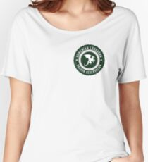 Dragon Sanctuary - Badge Size Women's Relaxed Fit T-Shirt