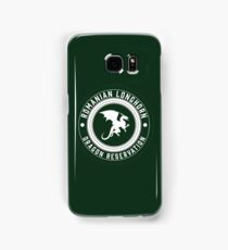 Dragon Sanctuary - Badge Size Samsung Galaxy Case/Skin