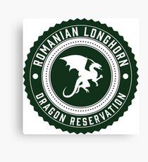 Dragon Sanctuary - Badge Size Canvas Print