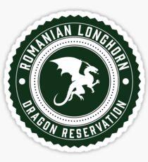 Dragon Sanctuary - Badge Size Sticker