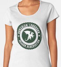 Dragon Sanctuary - Full Size Women's Premium T-Shirt