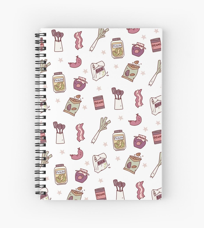 "Kitchen Mess: ""Kitchen Mess"" Spiral Notebooks By Talincomill"