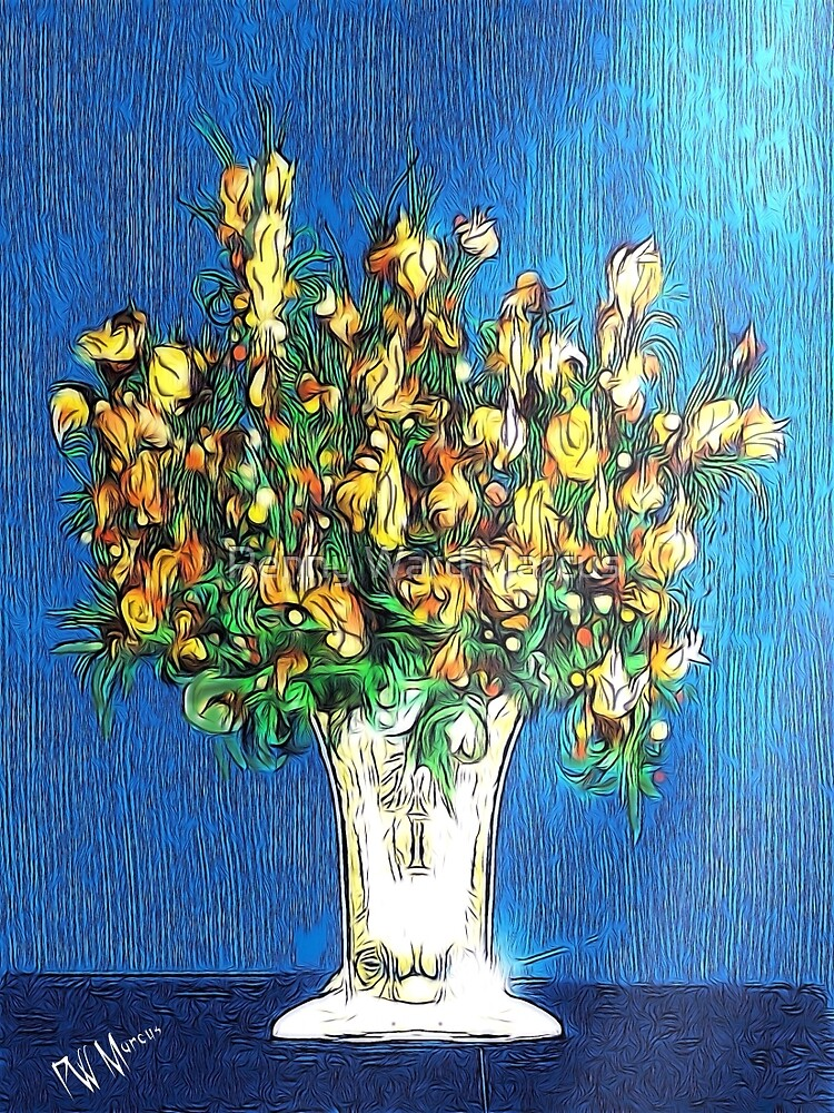 Yellow Floral Bouquet by Penny Ward Marcus