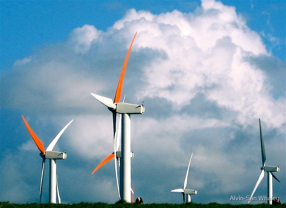 Big Island Windpower by Alvin-San Whaley