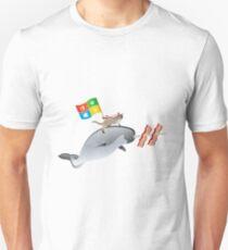Ninja Cat Narwhal T-Shirt