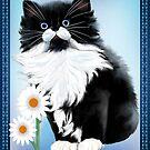 Kitten and Daisy by Lotacats
