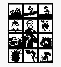 Tribute to Miyazaki Photographic Print