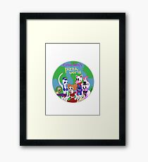 Circus Baby's Pizza World Framed Print
