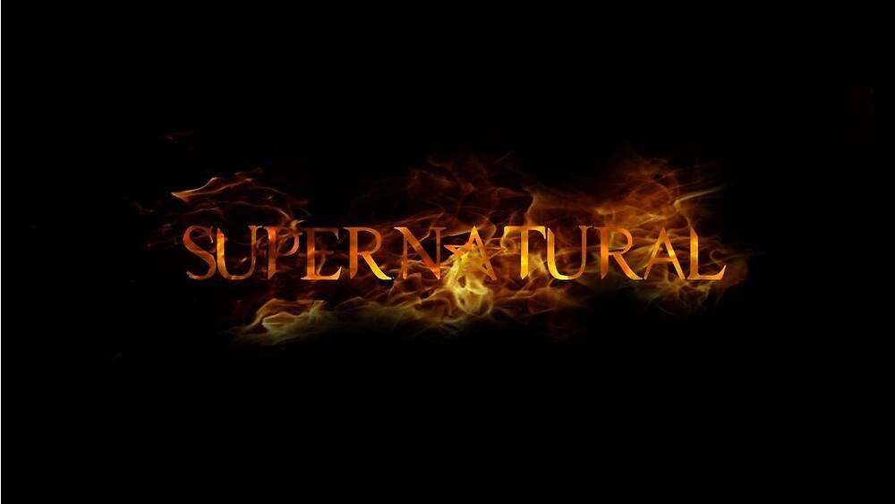 quotsupernatural logo season 2quot by supernaturalmgc redbubble